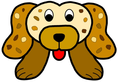 Punctuation Puppy Head Template