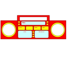 Radio Book Report Templates