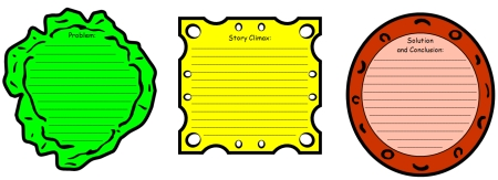 Sandwich Book Report Project: templates, printable ...