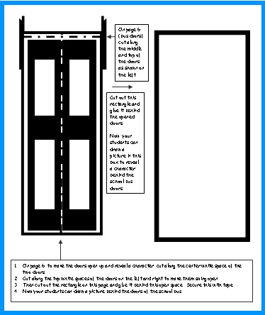School Bus Door Opening Templates