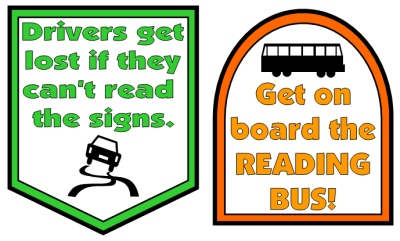 School Bus Book Report Projects Bulletin Board Accent Pieces