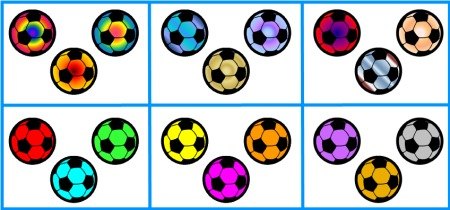 Soccer Balls Accent Pieces and Clip Art