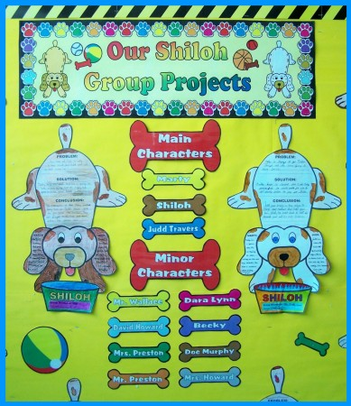 Shiloh Classroom Bulletin Board Display Ideas and Examples