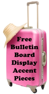 Vacation Suitcase Book Report Free Bulletin Board Accent Pieces