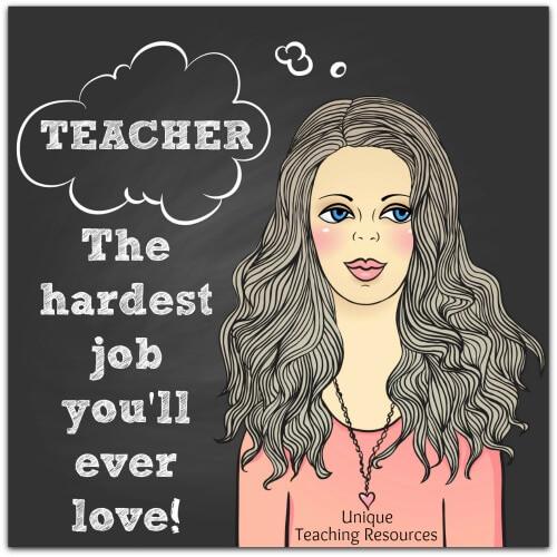 Teacher:  The hardest job you'll ever love.