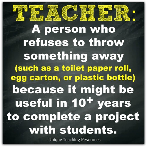 Funny definition of a teacher.