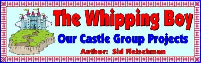 The Whipping Boy Sid Fleischman Bulletin Board Display Banner