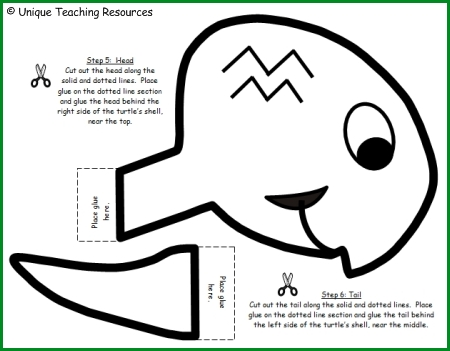 Turtle Project Templates For Elementary School Students