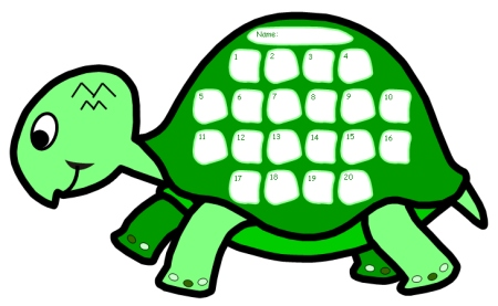 Turtle Sticker Charts Look At The Progress We Are Making