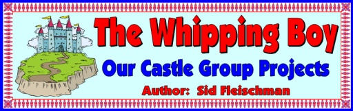 The Whipping Boy Bulletin Board Banner Display