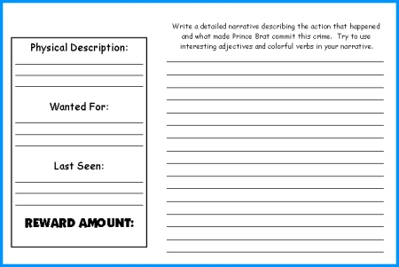 Whipping Boy Lesson Plans Author Sid Fleischman – Help Wanted Template Word