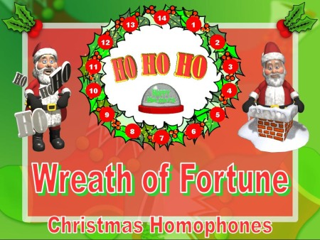Christmas English Homophones Powerpoint Lesson Plans Activity