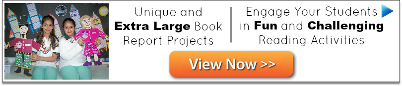 Click here to view 25+ different book report projects.