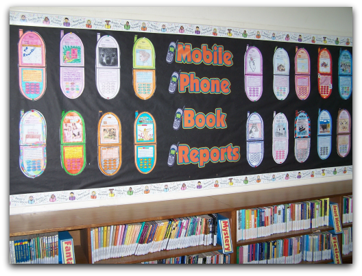 Cell Phone Book Report Project