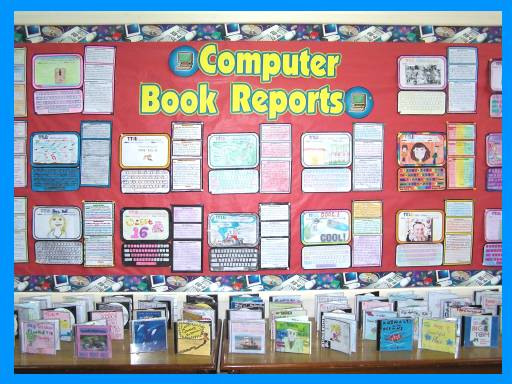 Computer Book Report Projects Bulletin Board Display Ideas