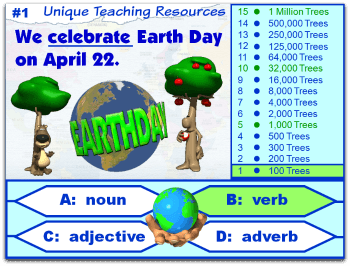 Earth Day grammar powerpoint lesson