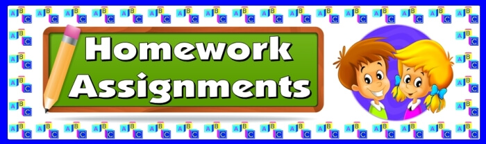 Free teaching resource to download - Homework Assignments bulletin board display banner