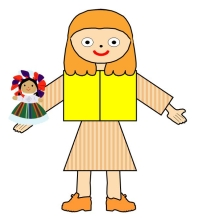 Main Character Book Report Project Girl With doll