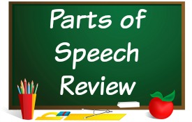 Fun Powerpoint Parts of Speech Lesson Review