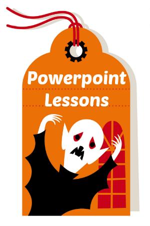Halloween powerpoint lessons