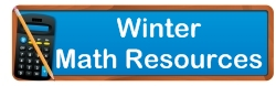 Winter and Christmas Math Teaching Resources