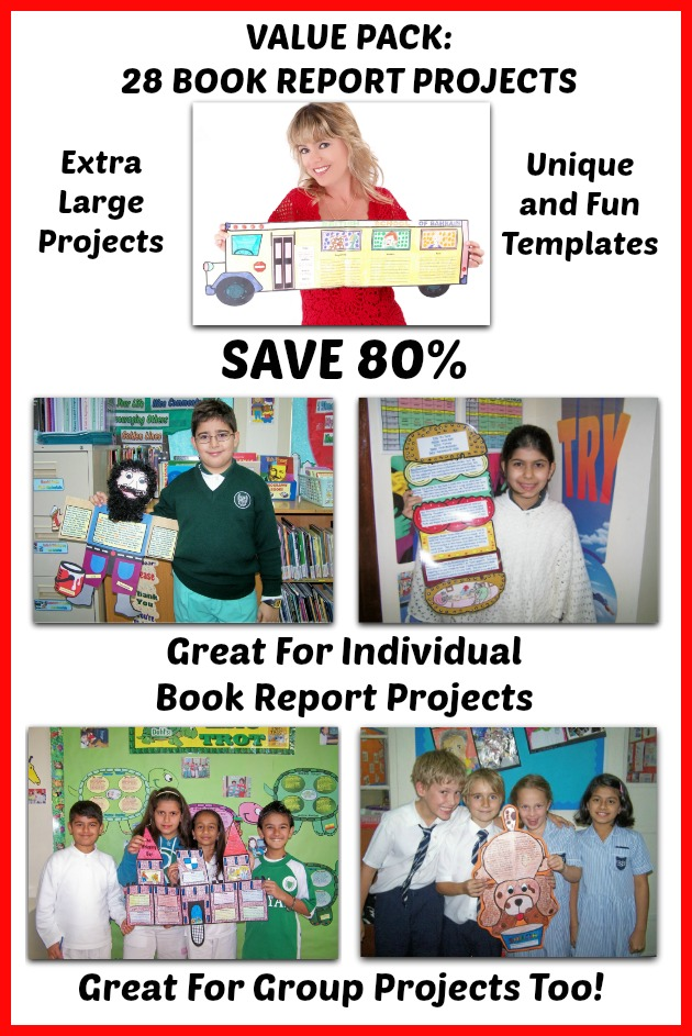 Examples of Book Report Projects