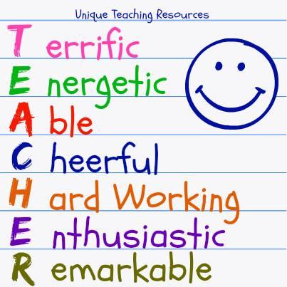 Teacher Note T.E.A.C.H.E.R.