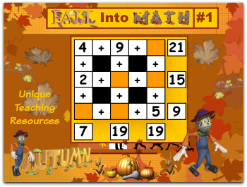 Click here to view this Thanksgiving math puzzles powerpoint.