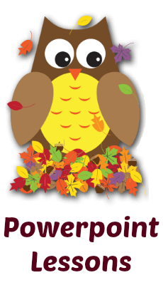 Thanksgiving Powerpoint Lessons