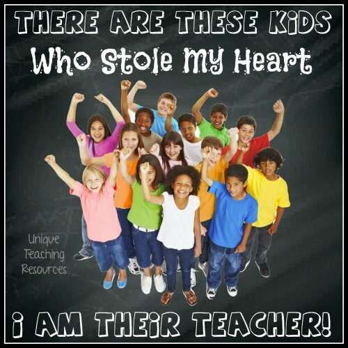 There are these kids who stole my heart.  I am there teacher.
