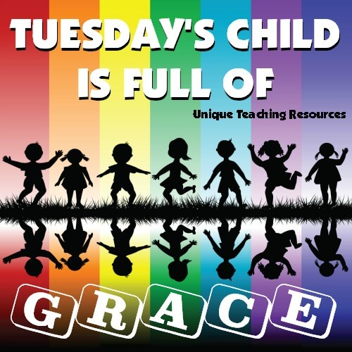 Quote:  Tuesday's child is full of grace.