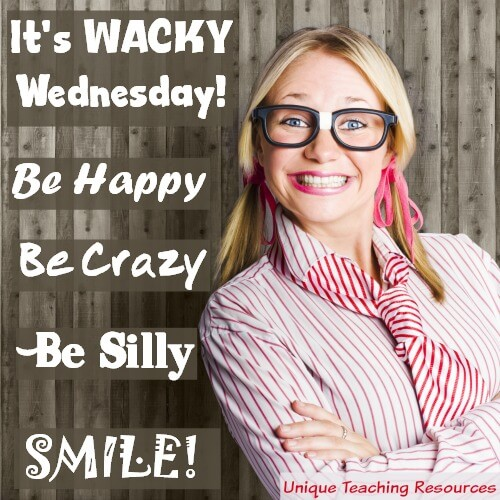 Funny Wacky Wednesday Quote and Graphic