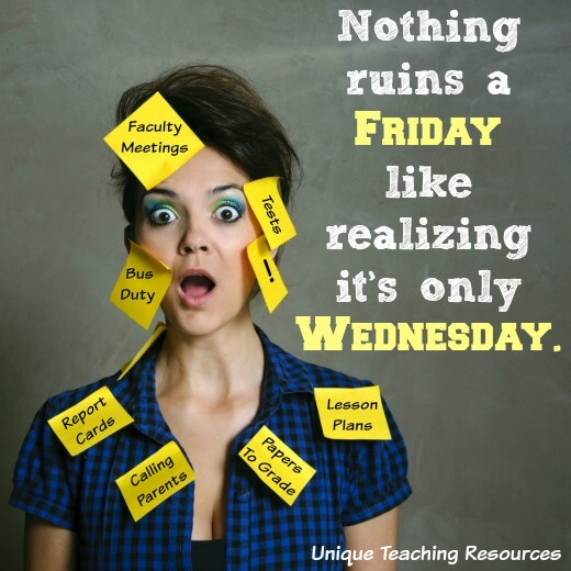 Funny Quote:  Nothing ruins a Friday like realizing it's only Wednesday.