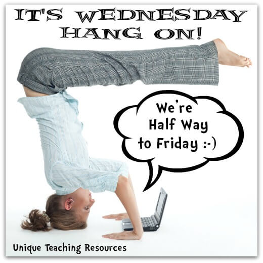 Wednesday Quote:  Hang on to Friday