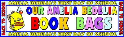 Amelia Bedelia's First Day of School Bulletin Board Display Herman Parish