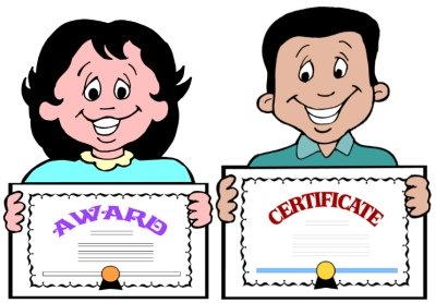 Awards Certificates For Learning Fry's 1000 Instant Sight Words