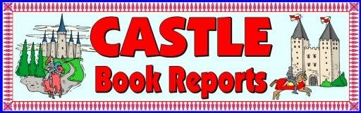 Castle Book Report Bulletin Board Display Banner