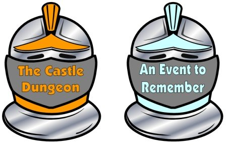 Middle Ages Knight's Helmet Templates for Castle Theme Projects