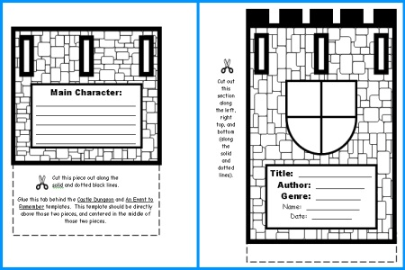 Castle Book Report Project Student WritingTemplates and Worksheets