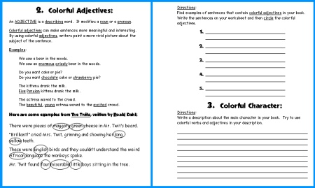 Caterpillar Book Report Project First Draft Writing Worksheets 2