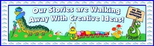 Spring Caterpillar Creative Writing Bulletin Board Display Banner Ideas