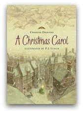 A Christmas Carol Book Cover and Creative Book Report Projects