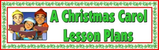 A Christmas Carol Lesson Plans Bulletin Board Display Banner Charles Dickens
