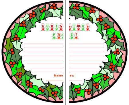 A Christmas Carol by Charles Dickens Group Project Worksheets and Templates