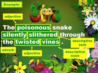 English Powerpoint Lesson Writing Descriptive Sentences