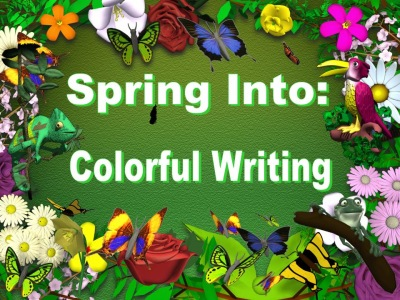 Spring Sentence Writing Powerpoint Lesson