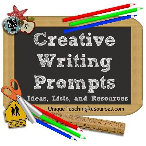 Creative Writing Prompts Ideas Lists And Resources For Elementary