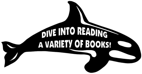 Dive Into Reading Classroom Bulletin Board Display Large Whale Template