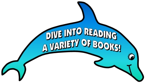 Dive Into Reading Elementary Students Bulletin Board Display Dolphin Templates