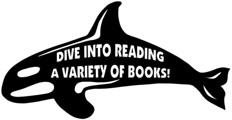 Dive Into Reading Elementary Students Bulletin Board Display Whale Templates